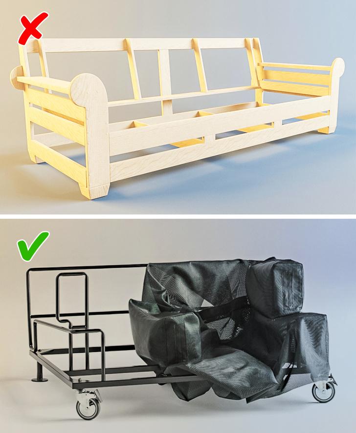 8 малозаметных деталей, на которые нужно обратить внимание при покупке мебели