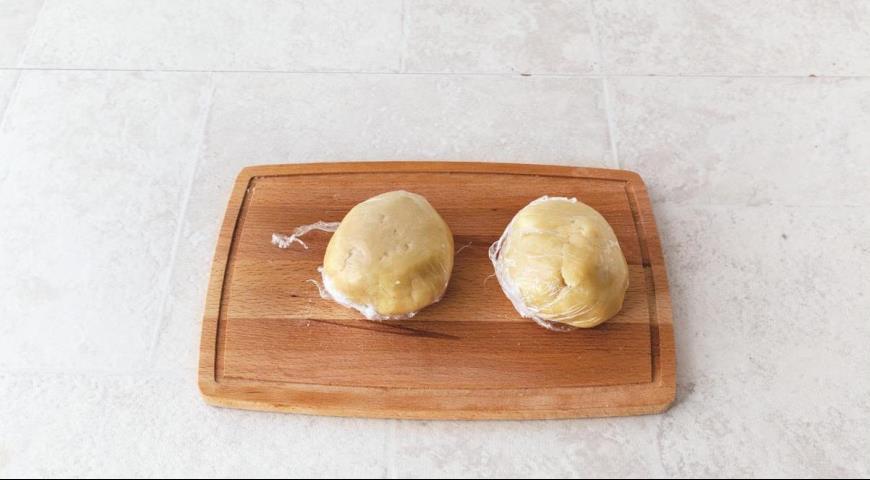 Самое простое тертое печенье с вареньем